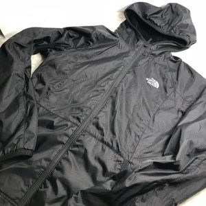 The North Face Black Women's hooded Jacket SM